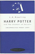 Harry Potter and the Chamber of Secrets Uncorrected Bound Proof