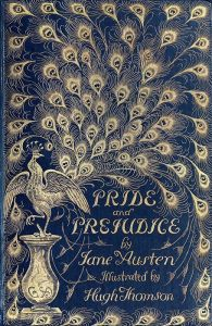 Jane Austen Pride and Prejudice Peacock Hugh Thomson