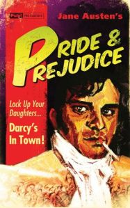 Jane Austen Pride and Prejudice Cover from Pulp the Classics