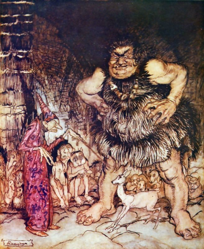 Reading Arthur Rackham: English Fairy Tales retold by Flora Annie ...