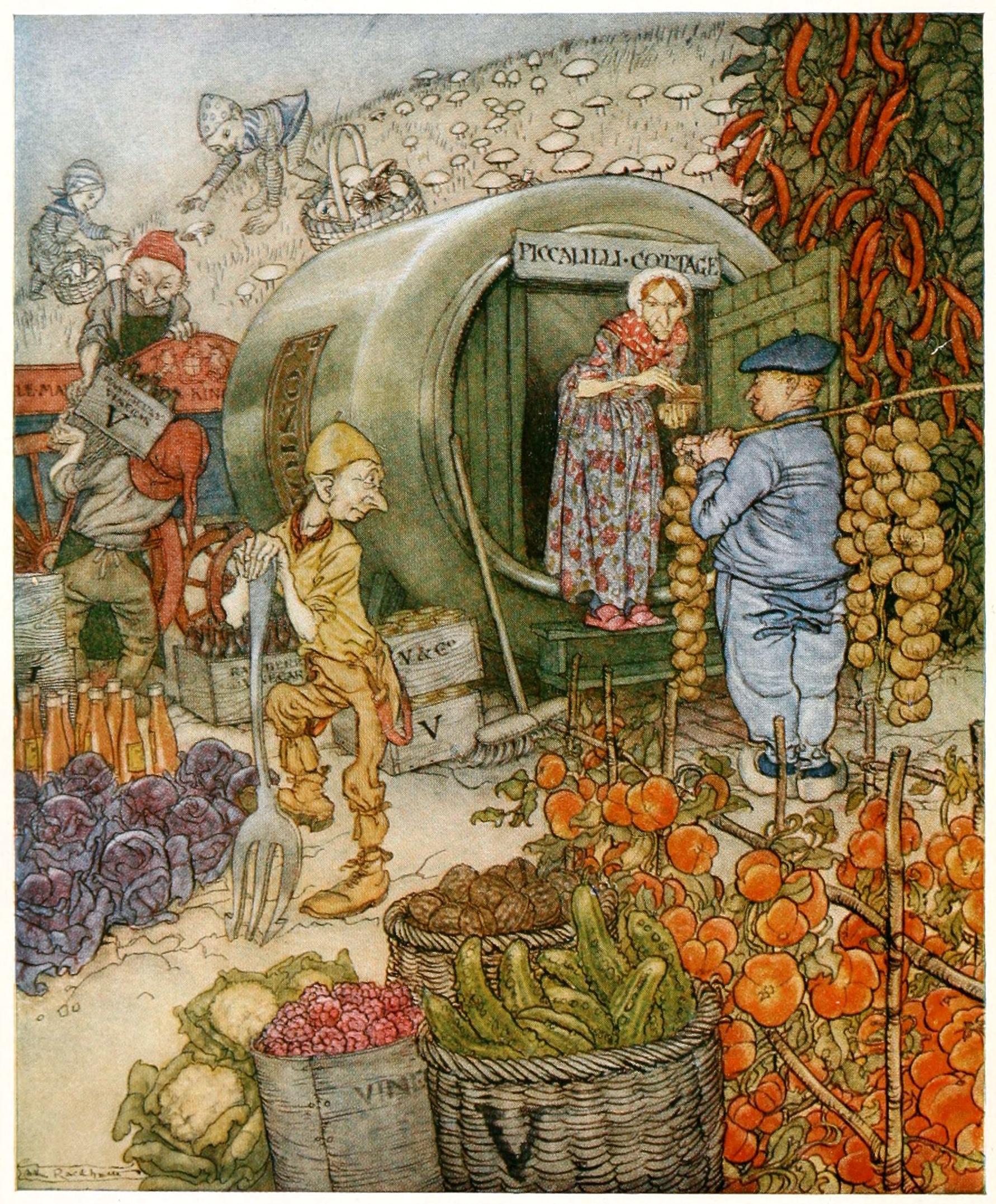 Reading Arthur Rackham: English Fairy Tales Retold By