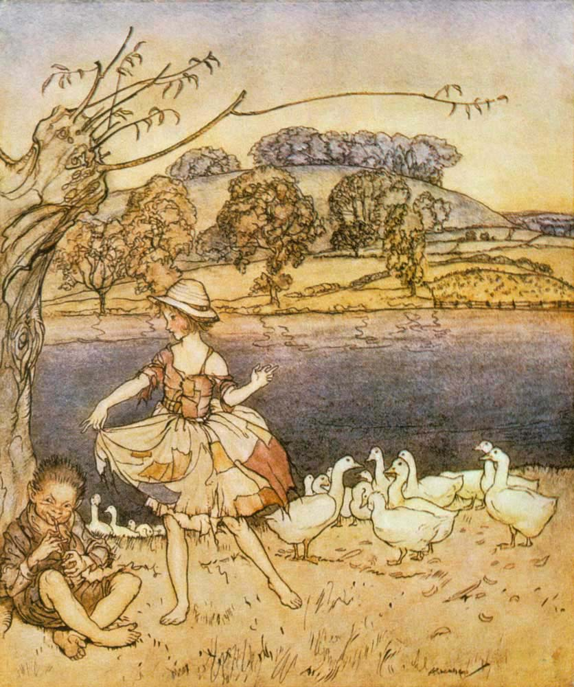 Reading Arthur Rackham: English Fairy Tales retold by Flora Annie Steel (4/6)