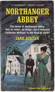 Jane Austen Northanger Abbey Paperback Library Gothic