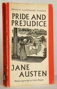 Jane Austen Pride and Prejudice Penguin 1938
