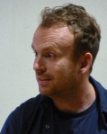 Matt Haig speaking at Battersea Literature Festival