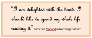 Catherine Morland in Northanger Abbey