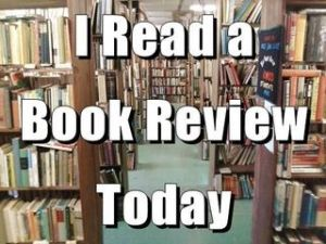 Today I Read a Book Review Book Blogging