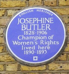 Josephine Butler, Blue Plaque