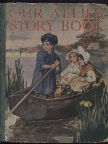 Alice M Cook's Cover for Our Allies Story Book [1918]