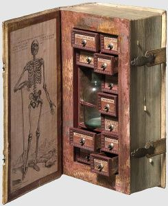 Poison Cabinet or Apothecary's Medicines in a Book?
