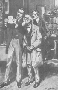 H M Brock,  R Austin Freeman, Professor Poppelbaum
