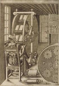 Agostino's Book Wheel 1588
