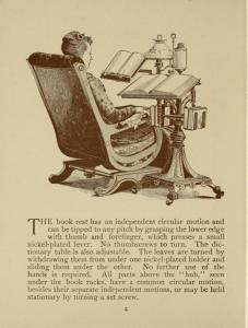 Holloway Reading Stand and Dictionary Holder 1890s