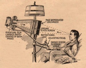 Microfilm Book Reader 1935
