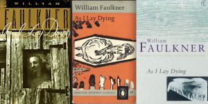 William Faulkner As I Lay Dying Book Covers