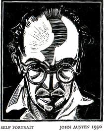 John Austen Self Portrait 1930
