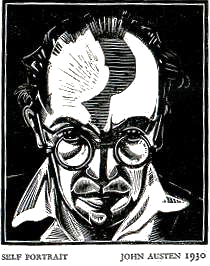 John Austen Autorretrato 1930
