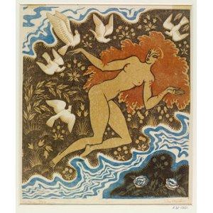 John Austen Print Cythera 1930