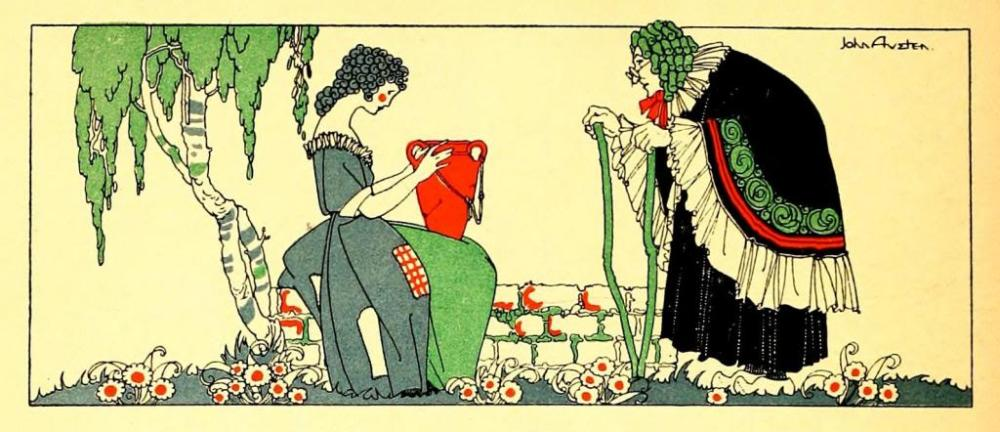John Austen - Prolific 20th century English book illustrator