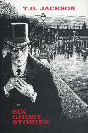 Dust Jacket Illustration on Ashtree Press's 1999 edition of Six Ghost Stories, by Jason Eckhardt