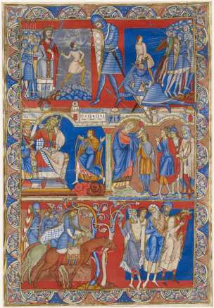 The Morgan Leaf Samuel with Life of David, from the Winchester Bible